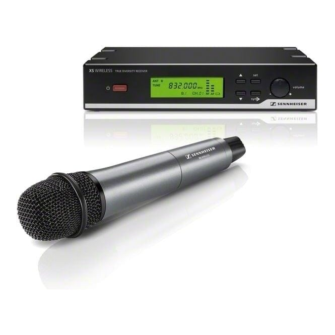 Sennheiser 504934 XSW 35-B Vocal set with dynamic cardioid microphone