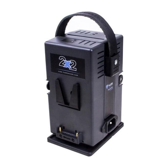 Hawk-Woods VL-2X2P 2- Channel V-Lok Lithium-Ion Compact Charger