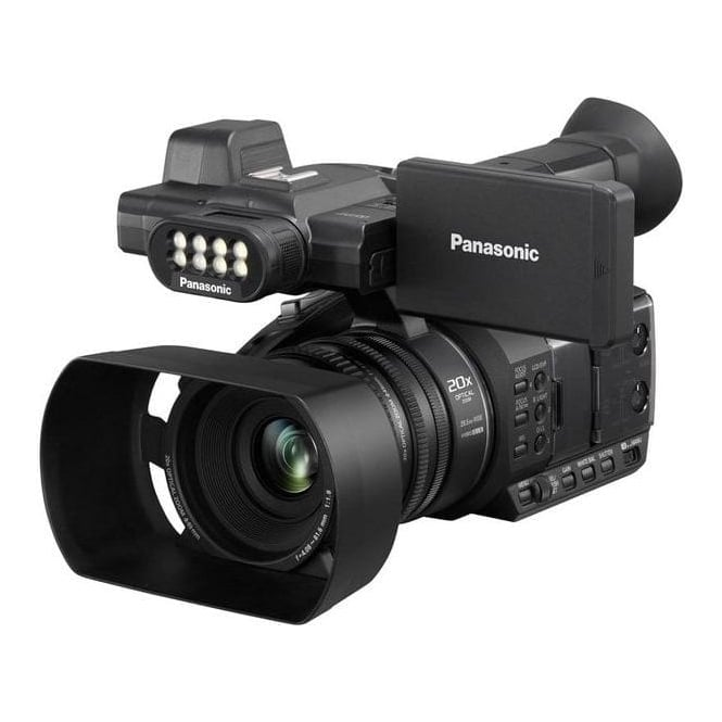 Panasonic PAN-AGAC30EJ Lightweight 50Mb/s HD camcorder with built-in LED light