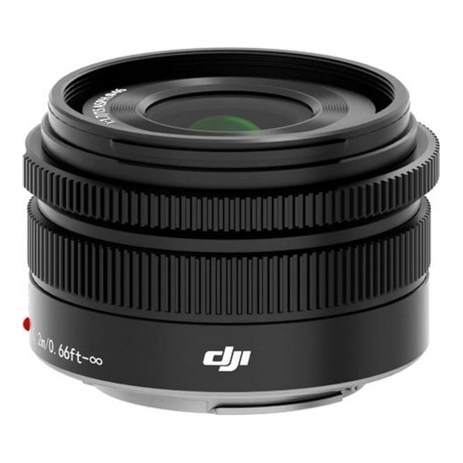 DJI MFT 15mm, F/1.7 Prime Lens