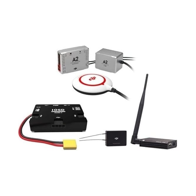 DJI A2 Flight Control System + iOSD Mark II + 2.4G Bluetooth datalink