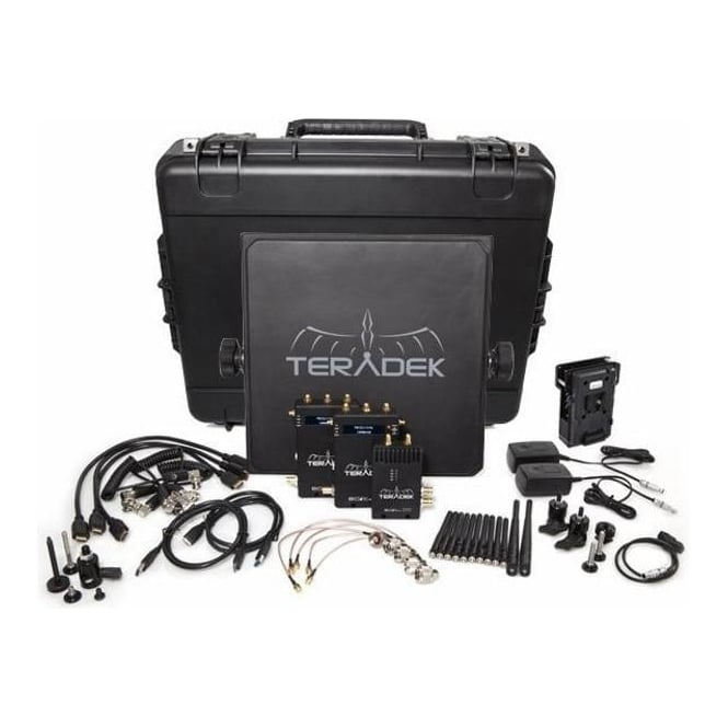 Teradek TER-BOLT-965-2V Deluxe SDI HDMI Wireless Video Tranceiver Set