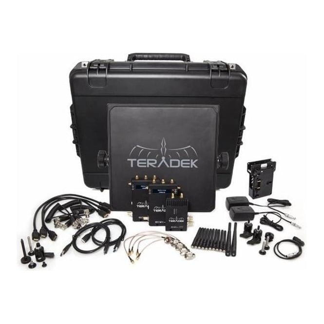 Teradek TER-BOLT-995-2V Deluxe SDI | HDMI Wireless Video Tranceiver Set - 2 x RX V Mount 3000ft