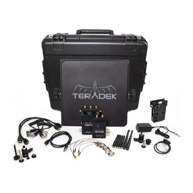 Teradek TER-BOLT-990-1G Bolt 2000 Deluxe Kit - Gold Mount
