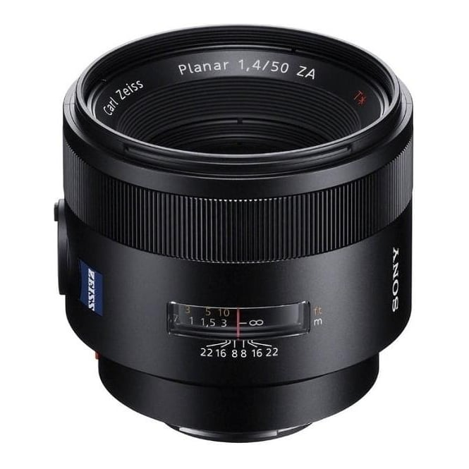 Sony SAL50F14Z.AE 50mm f/1.4 Carl Zeiss Planar T* ZA Lens