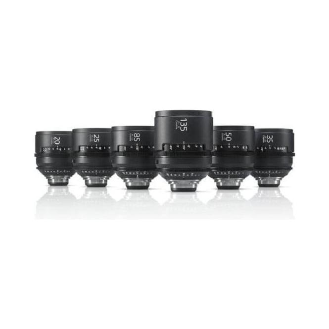 Sony SCL-PK6/F PL Mount Lenses - 6 Lens Kit