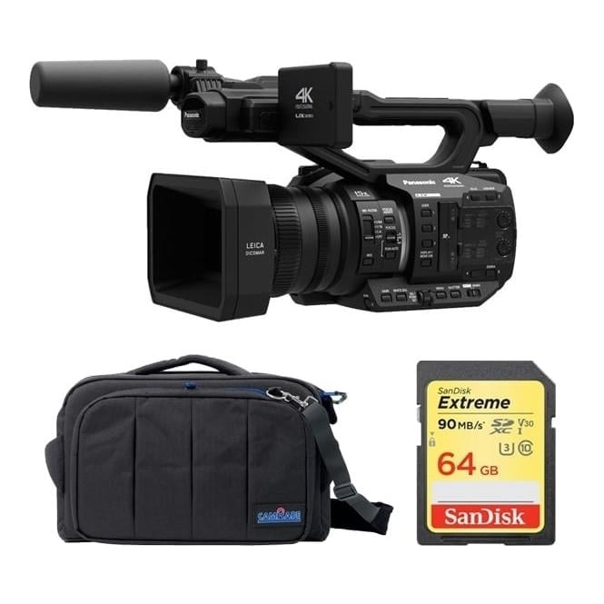 Panasonic AGUX90 4K Camcorder Package B