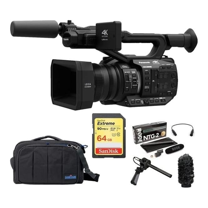Panasonic AGUX90 4K Camcorder Package C