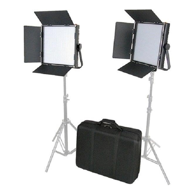 Came L1024S2KIT High CRI Bi-Color 2 X 1024 LED Video LightsTV Lighting