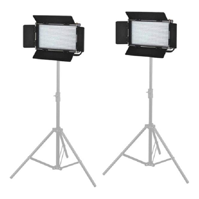 Came L576D2KIT 2X576 LED Light Dimmable Daylight 5600K Digital Display V Mount