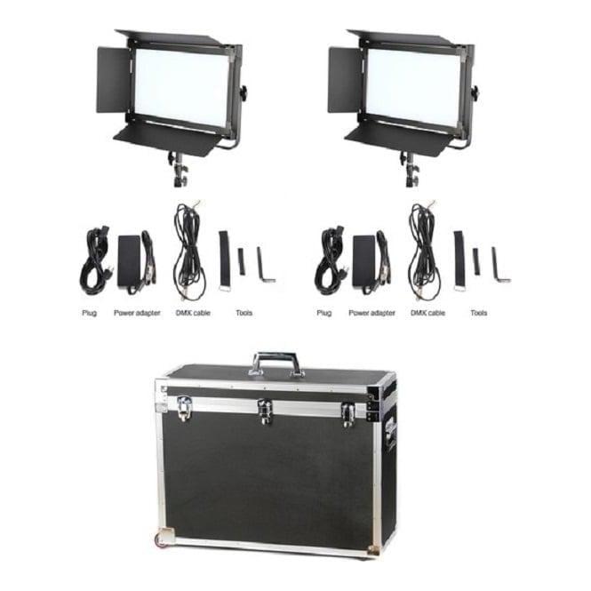 CAME-TV 1380D2KIT 1380 LED Light Daylight (2 Piece Set)