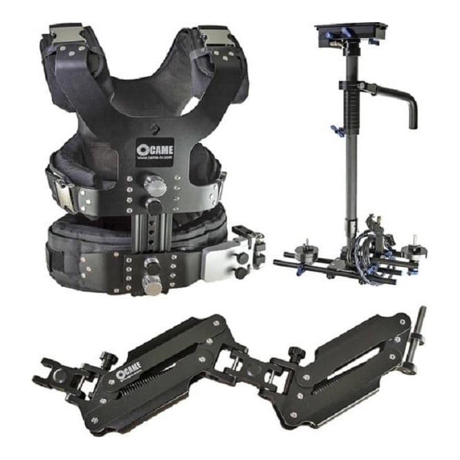 Came LBVL4ALBS1 2.5-15kg Load Pro Camera Steadicam Video Carbon Stabilizers
