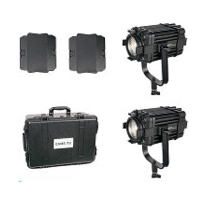 CAME-TV B60-2KIT 2 Pcs Boltzen 60w Fresnel Fanless Focusable Led Daylight
