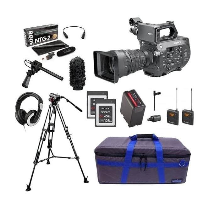 Sony PXW-FS7K 35mm XDCAM Camera with Lens Package E with FREE RedPro Battery