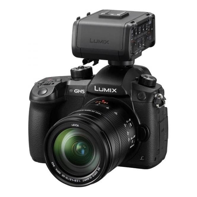 Panasonic PAN-DCGH5EB-KXLR Lumix DC-GH5EB-K CSC Camera & XLR Adaptor Bundle