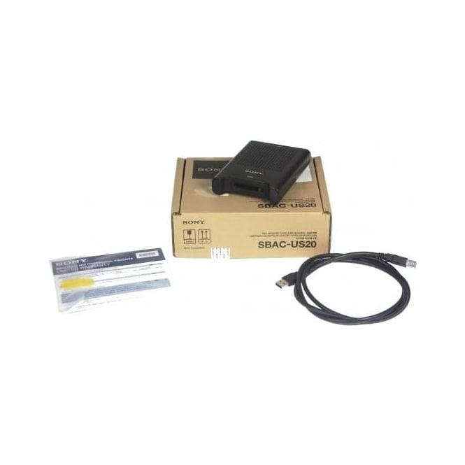 Sony SBAC-US20 Card Reader, Used