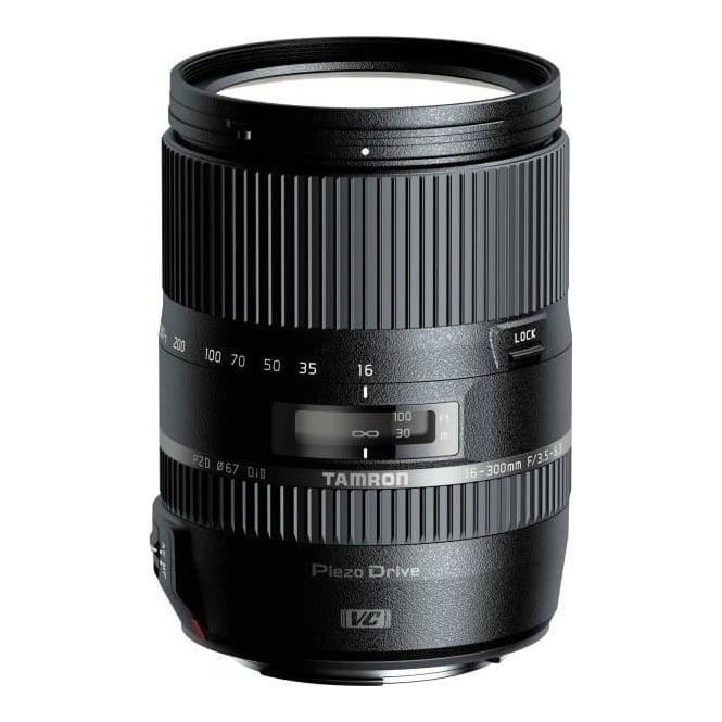 Tamron 16-300mm F/3.5-6.3 Di II VC PZD Lens for Canon