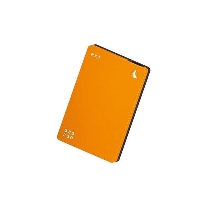 AngelBird AB-PKTU31-512OK 512GB SSD2go PKT USB 3.1 Gen 2 Type-C External Solid State Drive (Orange)