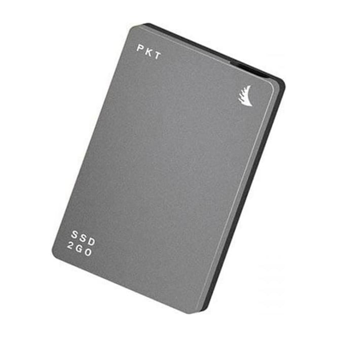 AngelBird AB-PKTU31-1000PK 1TB SSD2go PKT USB 3.1 Gen 2 Type-C External Solid State Drive (Graphite Gray)