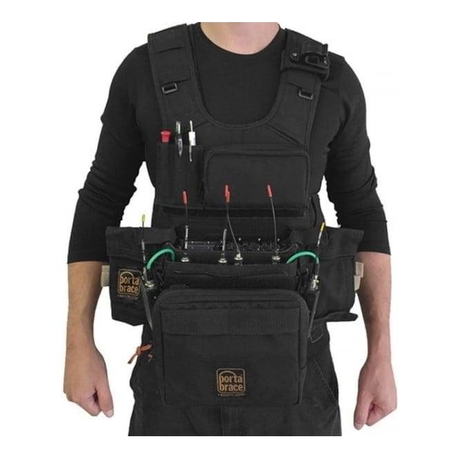 Portabrace ATV-MAXX Audio Tactical Vest Zaxcom Maxx Black