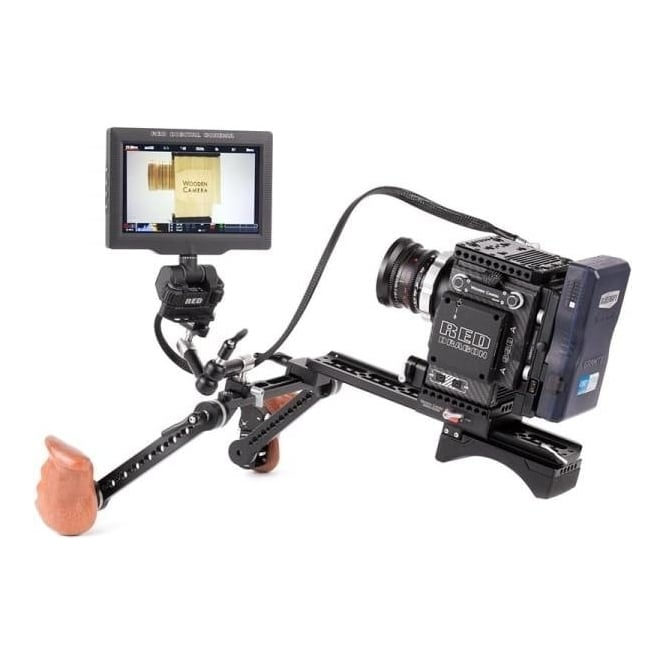 "WoodenCamera WC-221500 24"" RED Male LEMO to Female Pogo LCD/EVF Cable"