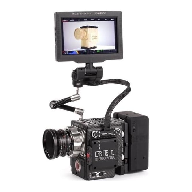 "WoodenCamera WC-221100 12"" RED Male Pogo to Female Pogo LCD/EVF Cable"