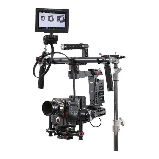 "WoodenCamera WC-221300 36"" RED Male Pogo to Female Pogo LCD/EVF Cable"