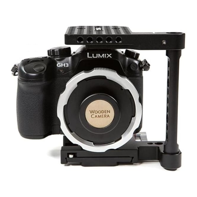 WoodenCamera WC-171500  MFT to PL Adapter (GH3 | GH4)