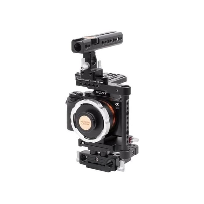 WoodenCamera WC-182400 E-Mount to PL Adapter Pro for A7s
