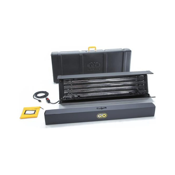 Kino Flo KIT-T455-230U Tegra 4Bank DMX T-455 Kit With Travel Case