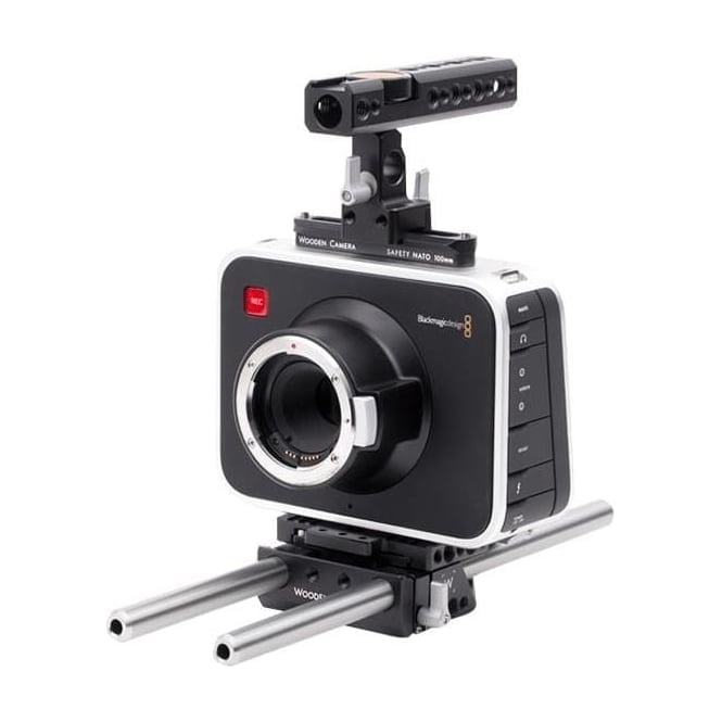 WoodenCamera WC-184200 Blackmagic Cinema Camera Accessory Kit