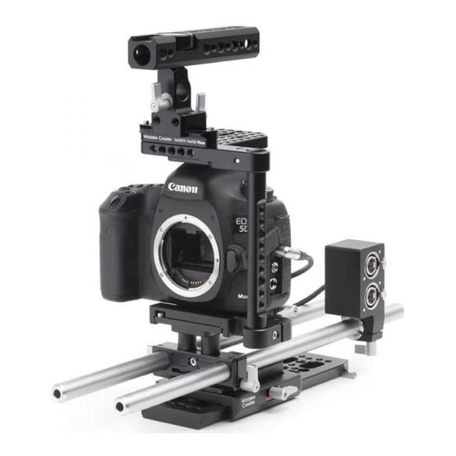 WoodenCamera WC-188500 Advanced camera support for Canon 5DmkIII