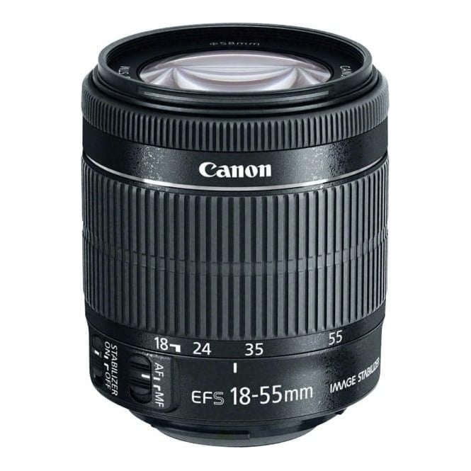 Canon EF-S 18-55mm IS II Zoom Lens in White Box, Used