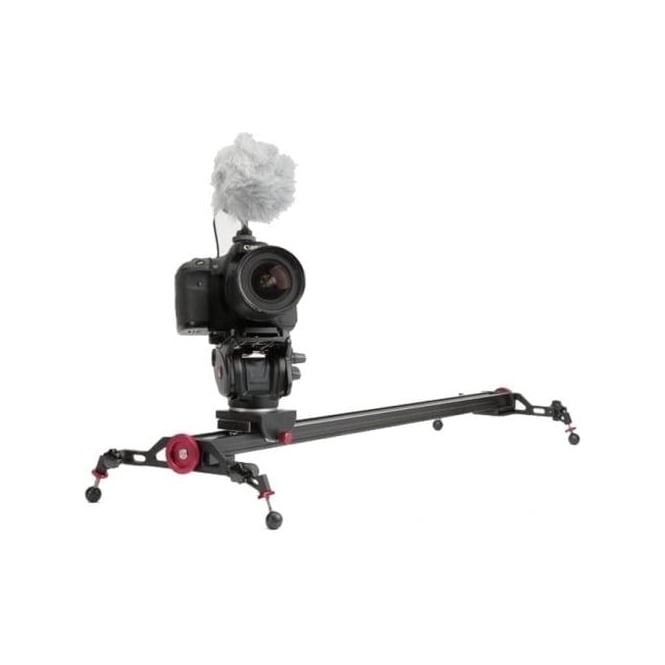Konova K5 slider with Manfrotto MVH500AH Fluid head, Used