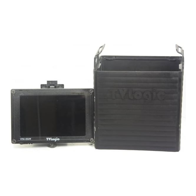 TV Logic VFM056W HD Monitor With Hood, Used