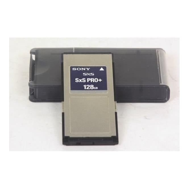 Sony SxSPro+ 128gb memory card, Used