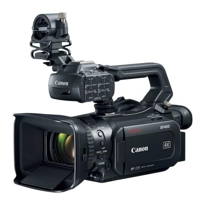 Canon XF400 Compact 4K UHD Camcorder with Dual Pixel