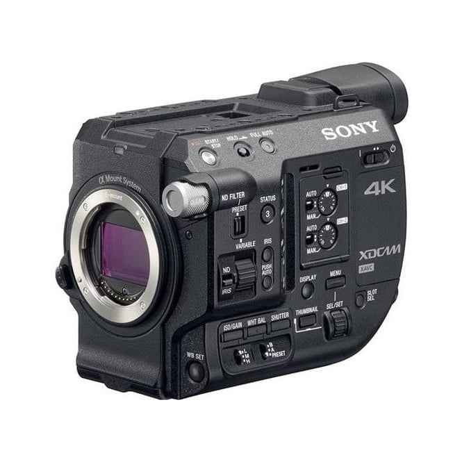 Sony PXW-FS5 4K Super35 Handheld E-Mount Camcorder with RAW upgrade