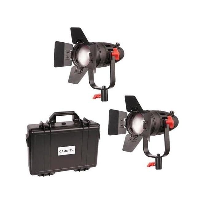 CAME-TV B-30S-2KIT 2 Pc CAME-TV Boltzen 30w Fresnel Fanless Focusable LED Bi-Color