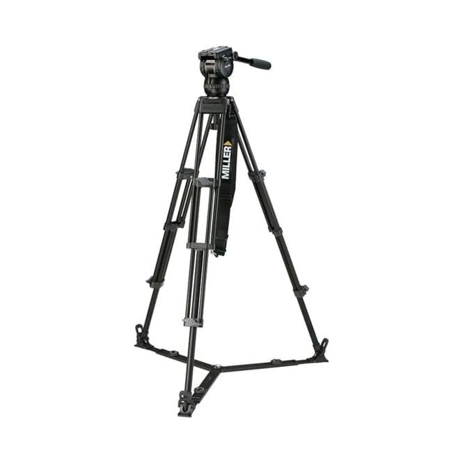 Miller 3702 CX2 Toggle LW 1-Stage Alloy Tripod System