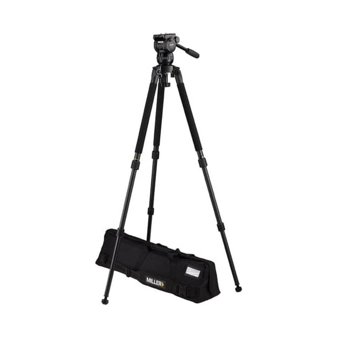 Miller 3710 CX2 Solo 2-Stage Alloy Tripod System