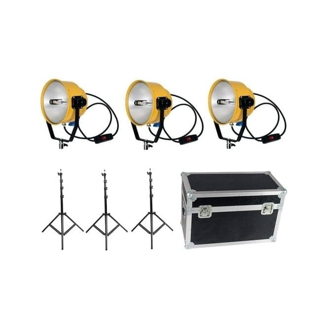 CAME-TV Y2300 220V Yellow Head Continuous Video Studio Photo Lighting