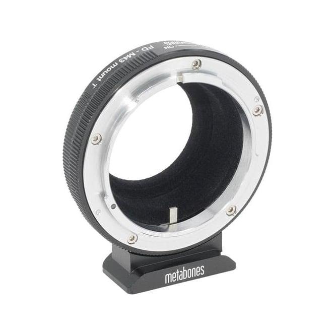 Metabones MB FD-m43-BT1 Canon FD to Micro Four Thirds adapter T,  Black Matt