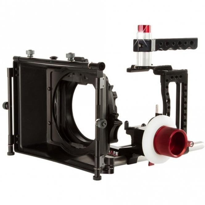Shape XC10KIT Canon XC10 Camera Cage, 4x4 Matte Box, and Follow Focus Kit