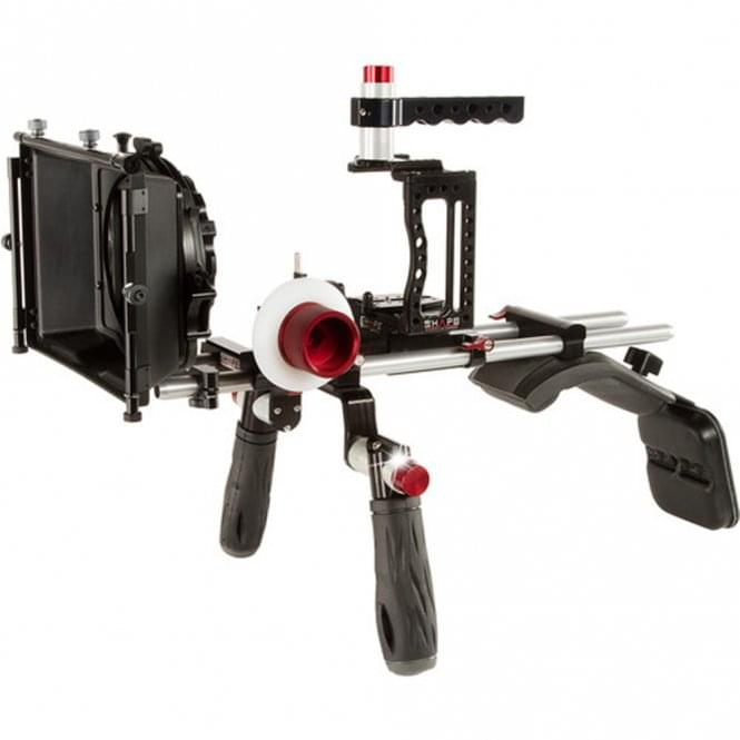 Shape SH-XC10SMKIT XC10 Camera Cage, Shoulder Mount, Matte Box, & Follow Focus Kit