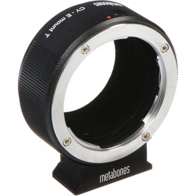 Metabones MB_CY-E-BT1 Metabones Contax/Yashica Lens to Sony E-Mount Camera T Adapter (Black)