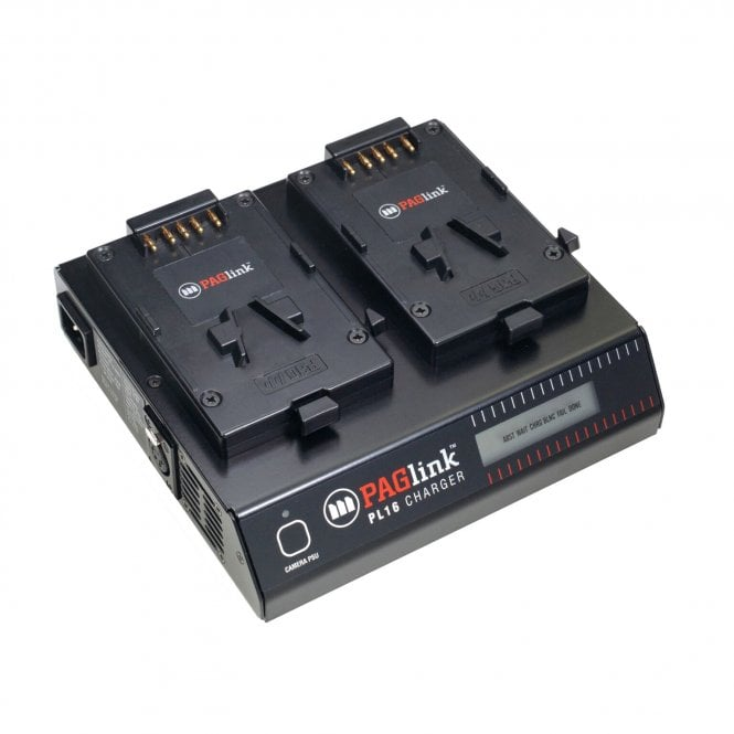 Pag 9707 PAGlink PL16 Charger (2 x V-Mount / iPC)