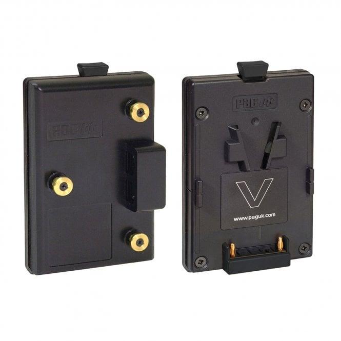 Pag 9510 Adapts Gold Mount for V-Mount batteries