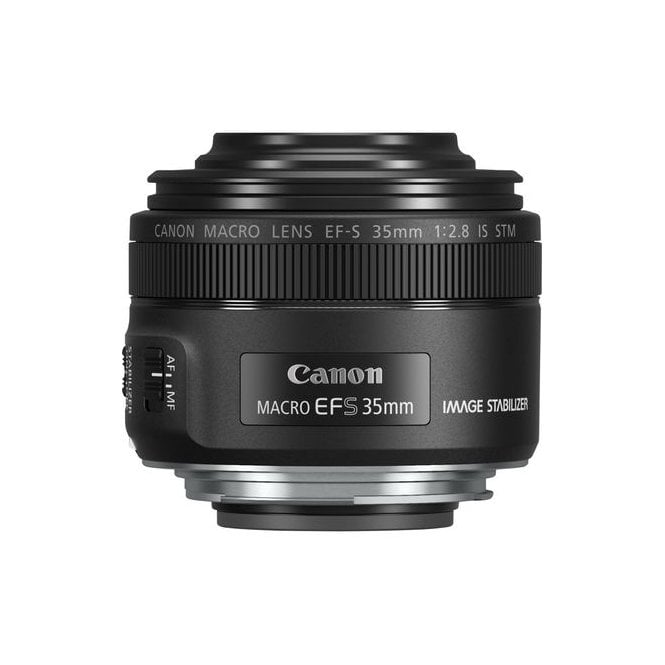 Canon 2220C005 EF-S 35mm f/2.8 Macro IS STM Lens