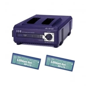 IDX Np-L2S 2 x NP-L7S Batteries, 1 x JL-2Plus Charger